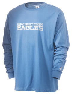 Vivian Banks Charter School Eagles  Russell Men's Long Sleeve T-Shirt