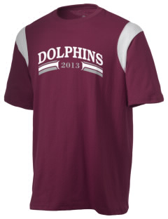 Saint Anthony Immaculate Conception Dolphins Holloway Men's Rush T-Shirt