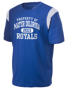 Mater Dolorosa Elementary School Royals Holloway Men's Rush T-Shirt