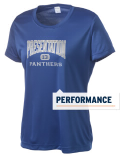 Presentation High School Panthers Women's Competitor Performance T-Shirt