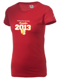 Kuemper Catholic High School Knights  Russell Women's Campus T-Shirt