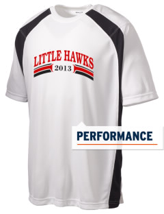 Mountlake Terrace Elementary School Little Hawks Men's Dry Zone Colorblock T-Shirt