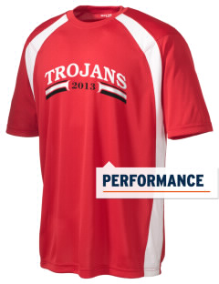Saint John The Baptist School Trojans Men's Dry Zone Colorblock T-Shirt