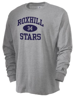 Roxhill Elementary School Stars  Russell Men's Long Sleeve T-Shirt