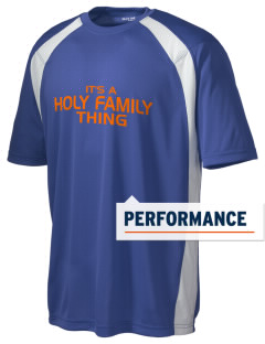 Holy Family School Cougars Men's Dry Zone Colorblock T-Shirt