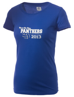 Christ The King School Panthers  Russell Women's Campus T-Shirt