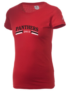 Saint Bernadette Parish School Panthers  Russell Women's Campus T-Shirt