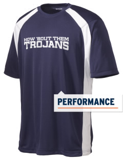 Trinity Catholic School Trojans Men's Dry Zone Colorblock T-Shirt