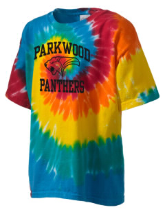 Parkwood Elementary School Panthers Kid's Tie-Dye T-Shirt