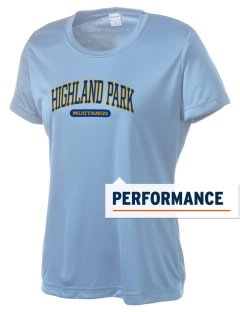 Highland Park Elementary School Mustangs Women's Competitor Performance T-Shirt