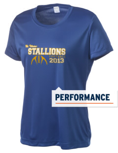Saint Viator School Stallions Women's Competitor Performance T-Shirt