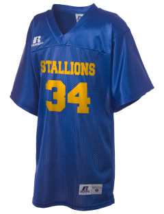 Saint Viator School Stallions Russell Kid's Replica Football Jersey