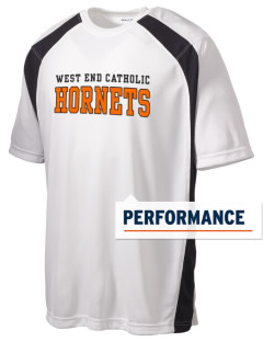 West End Catholic School Hornets Men's Dry Zone Colorblock T-Shirt