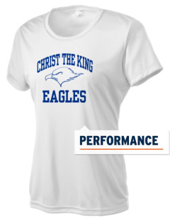 Christ The King School Eagles Women's Competitor Performance T-Shirt