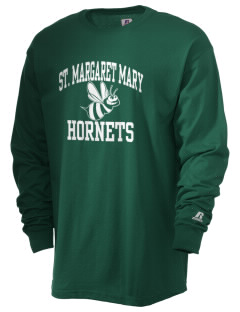 Saint Margaret Mary School Hornets  Russell Men's Long Sleeve T-Shirt