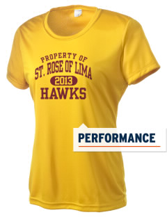 Saint Rose Of Lima School Hawks Women's Competitor Performance T-Shirt