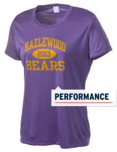 Hazlewood Elementary School Bears Women's Competitor Performance T-Shirt