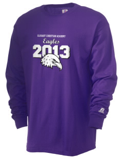Elkhart Christian Academy Eagles  Russell Men's Long Sleeve T-Shirt
