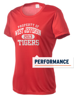 West Jefferson School Tigers Women's Competitor Performance T-Shirt