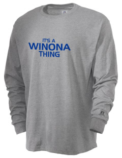 Winona Academy Stars  Russell Men's Long Sleeve T-Shirt