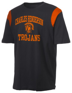 Charles Henderson Middle School Trojans Holloway Men's Rush T-Shirt