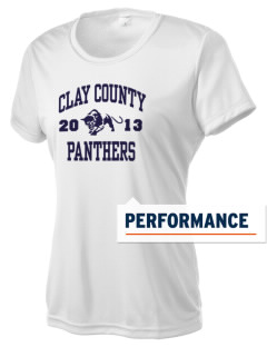 Clay County High School Panthers Women's Competitor Performance T-Shirt