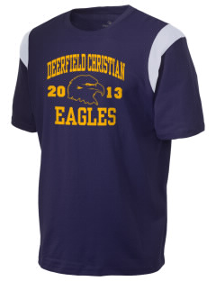 Deerfield Christian Academy Eagles Holloway Men's Rush T-Shirt