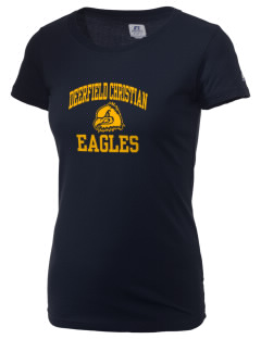 Deerfield Christian Academy Eagles  Russell Women's Campus T-Shirt