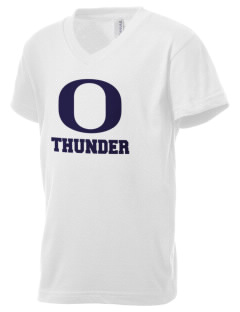 The Out-of-Door Academy Thunder Kid's V-Neck Jersey T-Shirt