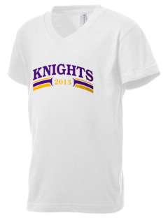 Chicago Christian High School Knights Kid's V-Neck Jersey T-Shirt