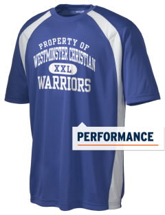 Westminster Christian School Warriors Men's Dry Zone Colorblock T-Shirt