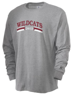Calvary Lutheran School Wildcats  Russell Men's Long Sleeve T-Shirt
