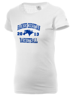Rainier Christian Middle School Mustangs  Russell Women's Campus T-Shirt