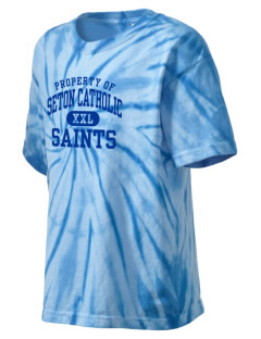 Seton Catholic Saints Kid's Tie-Dye T-Shirt