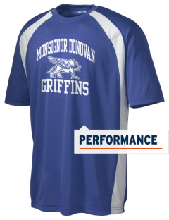 Monsignor Donovan High School Griffins Men's Dry Zone Colorblock T-Shirt