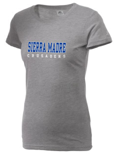 Sierra Madre Academy Crusaders  Russell Women's Campus T-Shirt