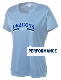New Age Academy Learning Institute Dragons Women's Competitor Performance T-Shirt