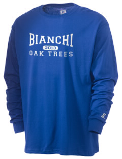 Bianchi Elementary School Oak Trees  Russell Men's Long Sleeve T-Shirt
