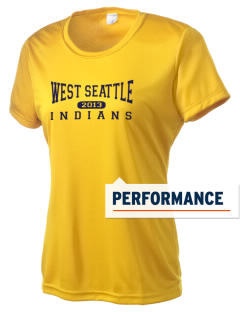 West Seattle High School Indians Women's Competitor Performance T-Shirt