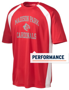Madison Park Technical Vocational High School Cardinals Men's Dry Zone Colorblock T-Shirt