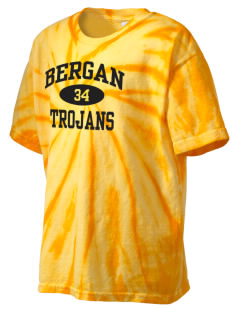 Bergan High School Trojans Kid's Tie-Dye T-Shirt