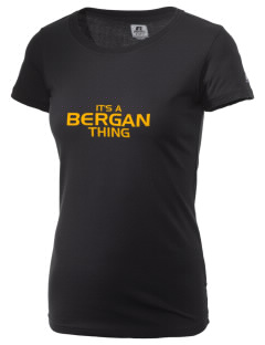 Bergan High School Trojans  Russell Women's Campus T-Shirt