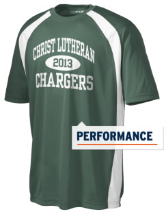 Christ Lutheran School Chargers Men's Dry Zone Colorblock T-Shirt