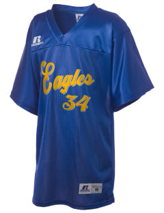 Brethren Elementary School Eagles Russell Kid's Replica Football Jersey