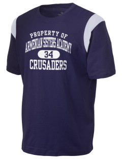 Armenian Sisters Academy Crusaders Holloway Men's Rush T-Shirt
