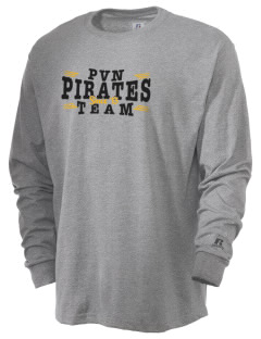 Pinecrest School Van Nuys Pirates  Russell Men's Long Sleeve T-Shirt
