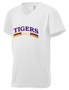 Thomas Jefferson Elder High School Tigers Kid's V-Neck Jersey T-Shirt