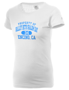 Valley Beth Shalom Day School Encino, CA  Russell Women's Campus T-Shirt