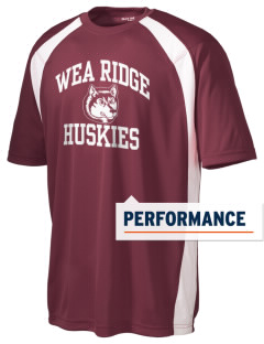 Wea Ridge Middle School Huskies Men's Dry Zone Colorblock T-Shirt