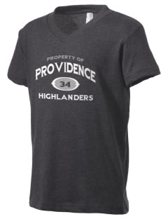 Providence Classical Christian School Highlanders Kid's V-Neck Jersey T-Shirt
